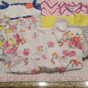 BUNDLED Healthtex toddler girl dresses. 3T